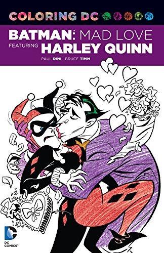 Dibujos Para Colorear Dc Batman Mad Love Con Harley Quinn Dc