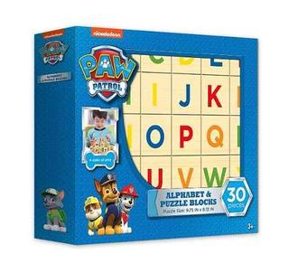 Paw Patrol Alphabet Y Puzzle Blocks 30 Piezas Compreonline!