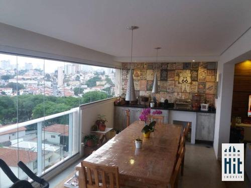 Imagem 1 de 30 de Apartamento À Venda, 125 M² Por R$ 1.436.000,00 - Aclimação - São Paulo/sp - Ap3590