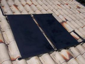 4 Placas Coletor Aquecedor Solar + C/ Manual / Menor Frete