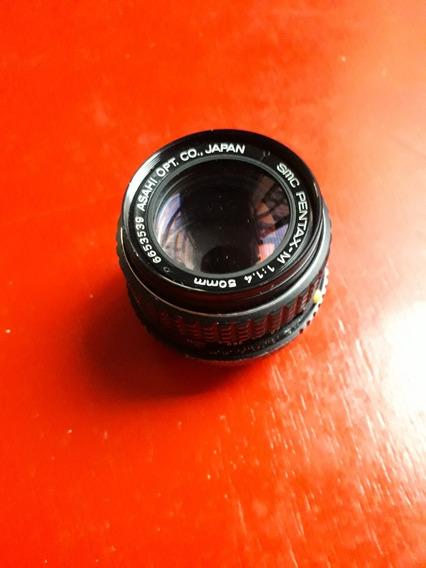 Lente Pentax Smc 50mm F1.4