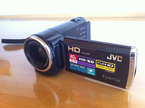 Filmadora Jvc Everio Gz- Hm440bu Full Hd 1920x1080 40x