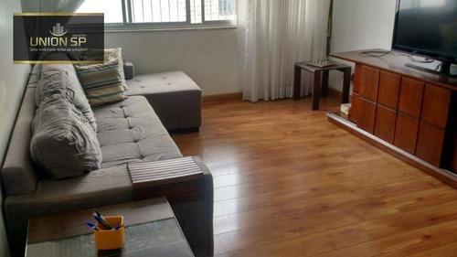 Apartamento Com 3 Dormitórios À Venda, 95 M² - Vila Mariana - São Paulo/sp - Ap16655