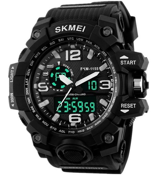 Relógio Skmei 1155 Esportivo S Shock 5atm Novas Cores
