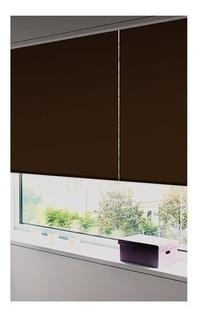 Persiana Enroll Blackout 1.05x1.9m Choco
