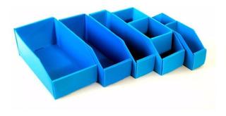 Caja Repuestos Plana Plastico Multiuso N°4 3div 30x10x11 X25