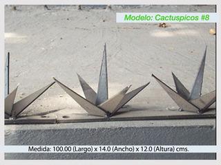 Picos De Seguridad Perimetral Para Bardas Modelo #8