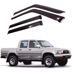 Calha De Chuva Pick-up Hilux Cd 97 A 04 Toyota 04 Portas