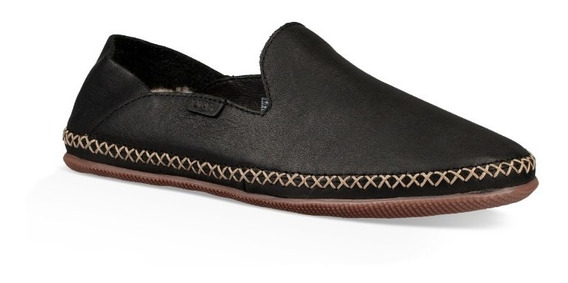 Zapato Alpargata Mujer Ugg Modelo Elodie Negro