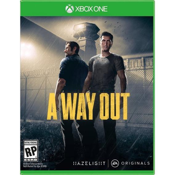 A Way Out Xbox One Mídia Física Novo Lacrado