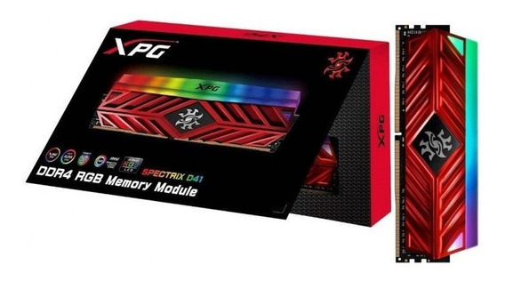 Memoria Adata Xpg 8gb Ddr4 2666mhz Spectrix D41 Rgb - Oferta
