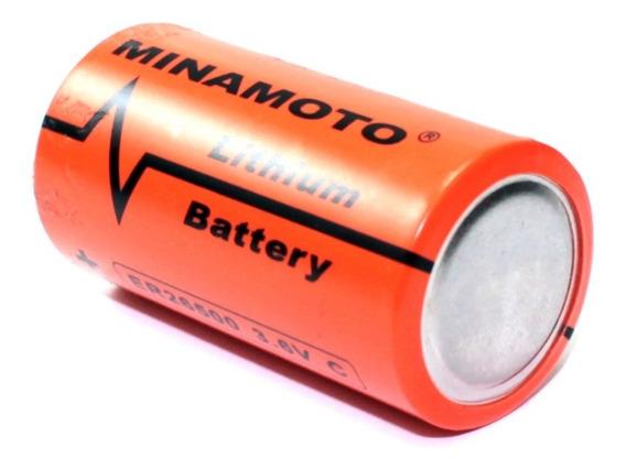 Bateria Er26500 3,6v 8500mah Lithium Size C Minamoto Oferta!