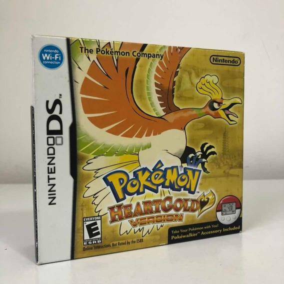 Pokemon Heartgold Version Americano Completo + Pokewalker