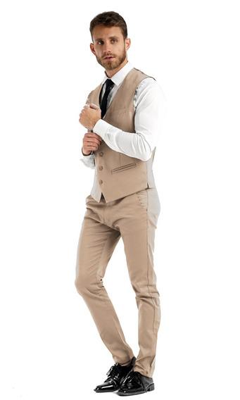 Camisas Vestir Con Chupín Chaleco Y Zapatos Import Usa