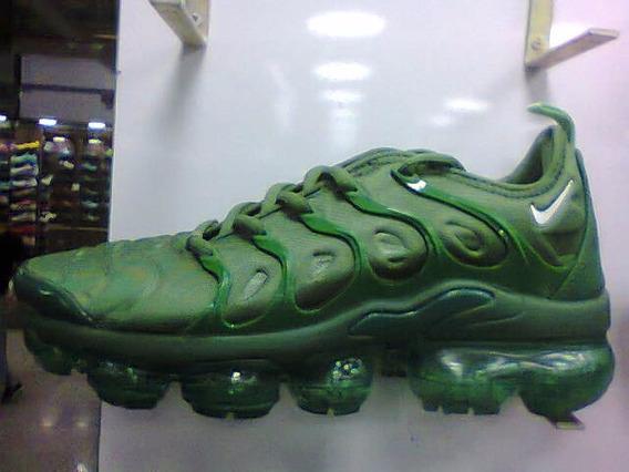 Tenis Nike Vapormax Plus Verde Nº38 A 43 Original