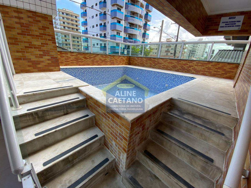 Apartamento -2 Dorms Tupi Praia Grande - R$ 290mil - Vsva165