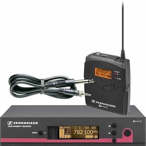 Micrófono Inalambrico De Instrumentos Sennheiser Ew172g3