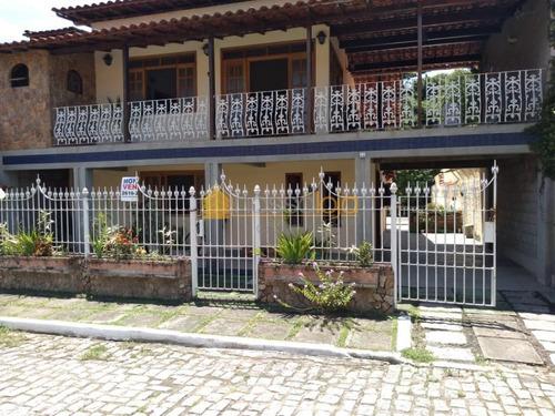 Casa Com 4 Dormitórios, 240 M² -  Maria Paula - São Gonçalo/rj - Ca0939