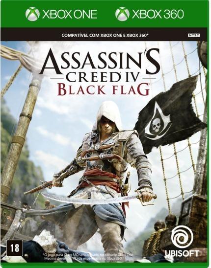 Assassins Creed Black Flag Xbox One Xbox 360 Português