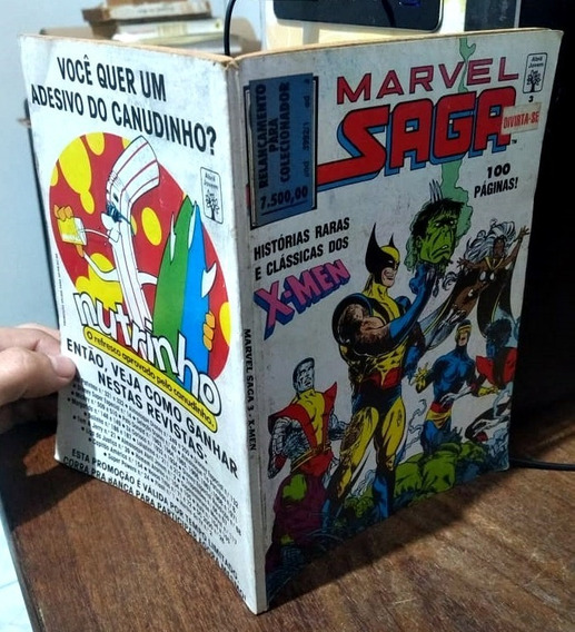 Marvel Saga #3: Histórias Raras E Clássicas Dos X-men