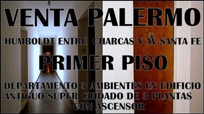 Palermo Vende Dueño Directo Antiguo Departamento 3ambientes