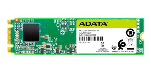 Imagen 1 de 3 de Disco sólido interno Adata Ultimate SU650 ASU650NS38-240GT-C 240GB
