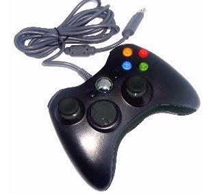 Xbox 360 + 1 Controle Com Fio ... Travado +2 Pendriver