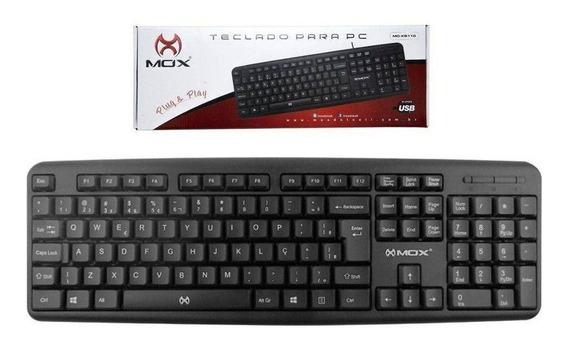 Teclado Para Pc Ou Notebook Preto Mo-kb110 - Mox Promoção