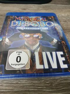 Dj Bobo - Mystorial - 25th Anniversary Live - Blu Ray Lacrad