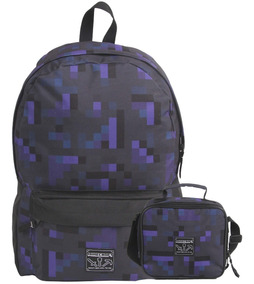 Kit Mochila Minecraft 11267+ Lancheira Cooler 11266 Original