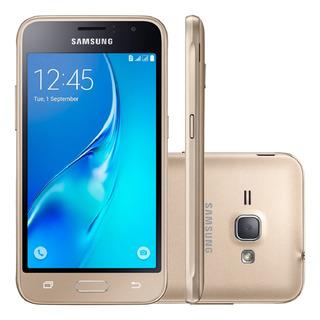 Samsung Galaxy J1 2016 J120h 8gb 3g 5mp Dourado Vitrine 2