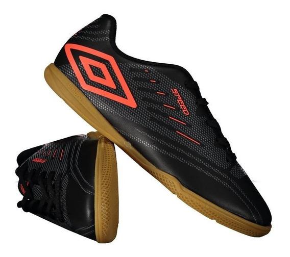 Chuteira Umbro Speed Iv Futsal Juvenil Preta