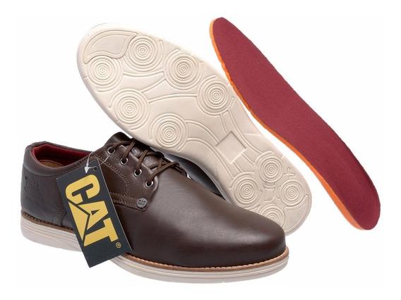 Sapato De Couro Caterpillar Original Modelo Exclusivo