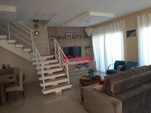 Sobrado Com 4 Dormitórios À Venda, 340 M² Por R$ 965.000,00 - Condomínio Villagio Milano - Sorocaba/sp - So0119