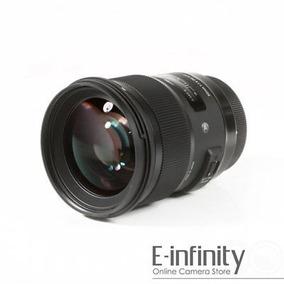 Nueva Sigma Serie 50mm F/1.4 Dg Hsm Lente Para Nikon F