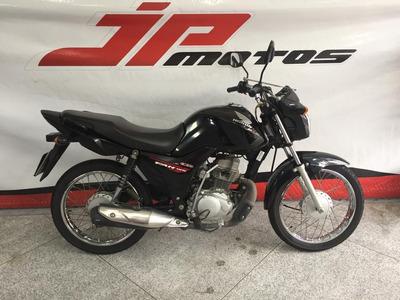 Honda Cg 125 Fan Ks 2015 Preta