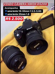 Nikon D 5200 + Lentes 18-55 E 35mm