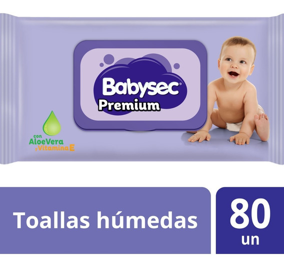 Toallita Humeda Babysec Premium X80