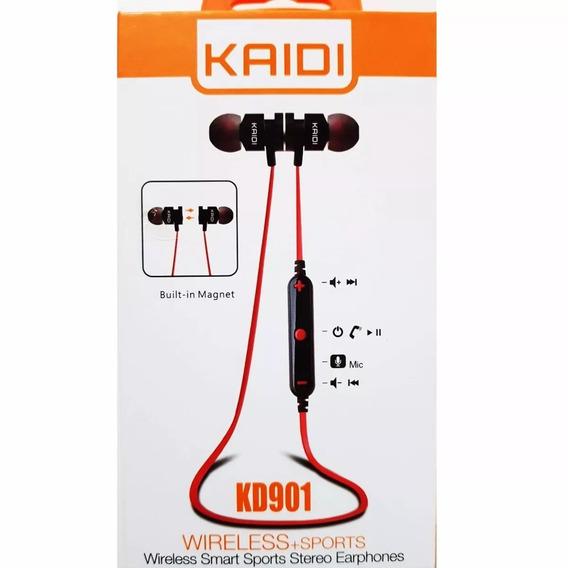 Fone Ouvido Sports Original Kaidi Fitness Bluetooth Sem Fio
