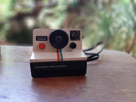 Câmera Antiga Polaroid 1000