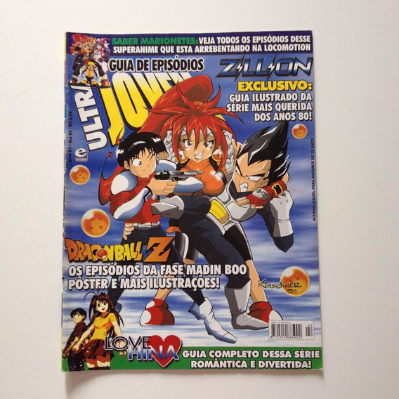 Revista Ultra Jovem Guia De Episódios Dragonball Z N°02