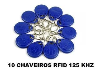 Chaveiro Rfid Tag 125khz Controle Acesso Melhor Que Cartão