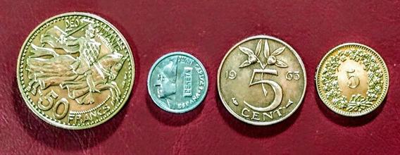 Monedas De Europa 14 Principado De Mónaco Y Otros Países