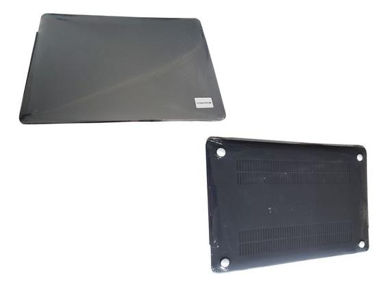 Case Capa Macbook Pro 15 Preto Fosco Touch Bar A1707 A1990