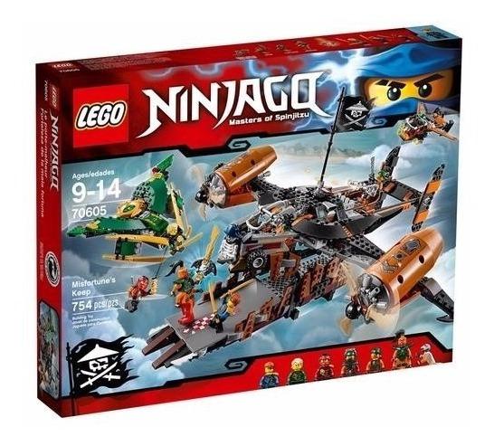 Brinquedo Lego Ninjago Misfortune Fortaleza Infortúnio 70605
