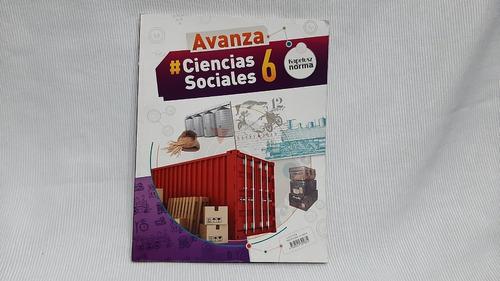 Ciencias Sociales 6 Kapelusz Avanza Moglia Y Otros