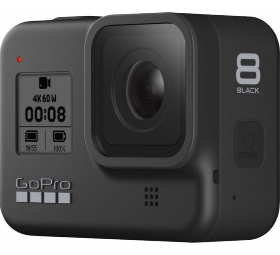 Câmera Gopro Hero 8 Black 12 Mp 4 K Wifi Com Nota Fiscal