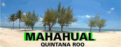 Imagen 1 de 4 de Terreno En Venta Mahahual, Quintana Roo