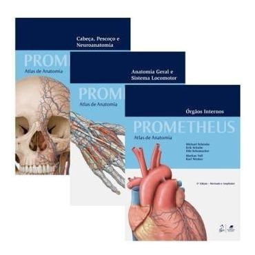 Coleção Prometheus - Atlas De Anatomia - 3 Volume