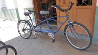 Bicicleta Tandem Doble